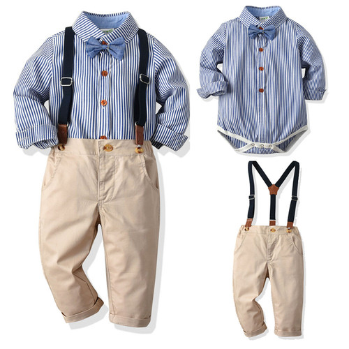 baby suspender outfit
