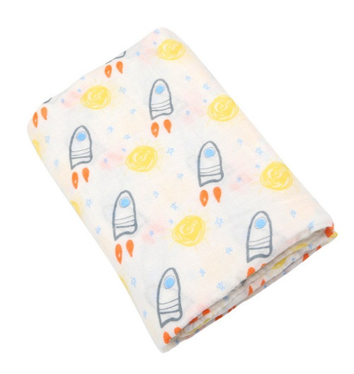 baby outerspace muslin wrap