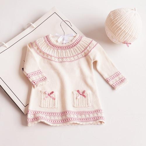 baby girl knit dress