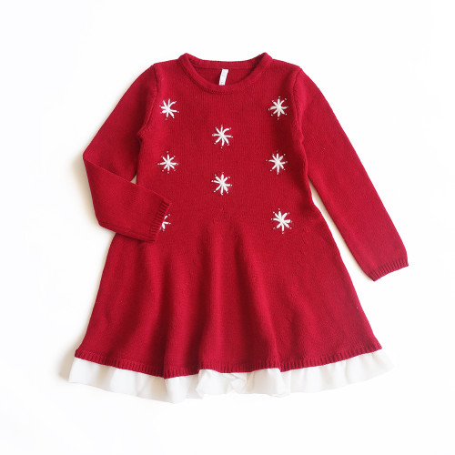 toddlers snowflake dress