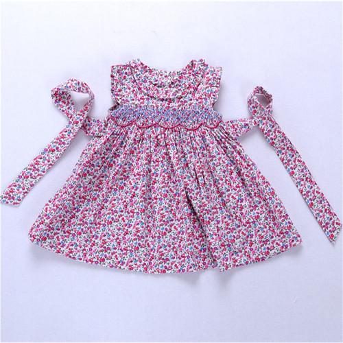 baby girls smocked dress