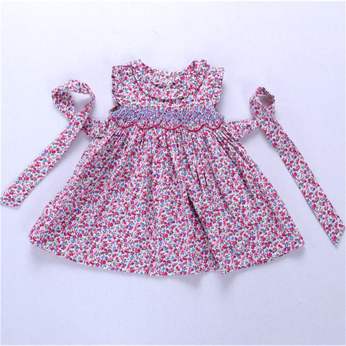 baby girls smocked dress