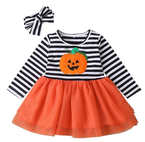 halloween baby dress