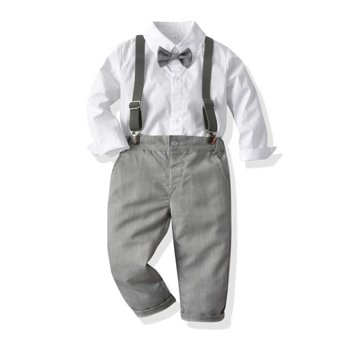 baby boy suspenders outfit