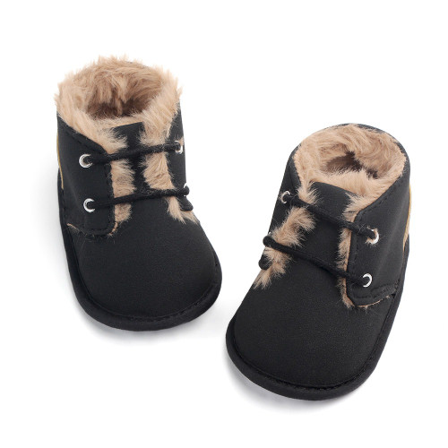 baby black boots