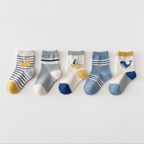 baby boy nautical socks
