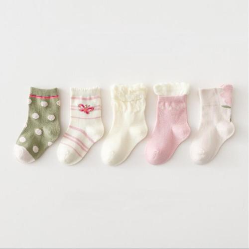 girls cotton socks