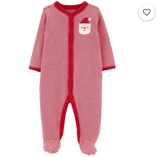 baby christmas footie pajamas