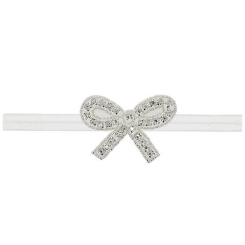 baby girls bow headband