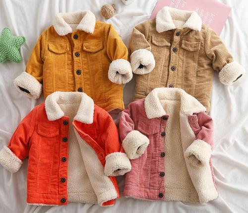 baby corduroy jacket