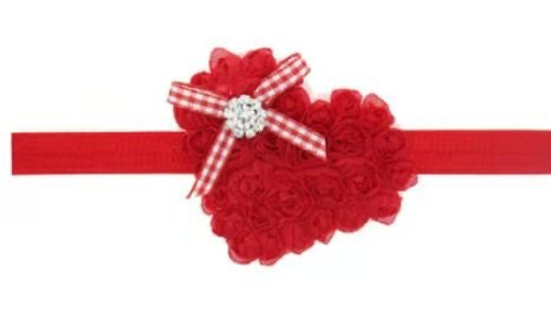 baby girls valentine's day headband