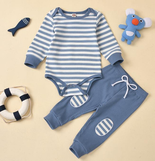 baby boy bodysuit and pants