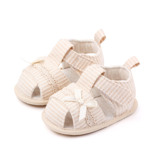 baby girls tan sandals