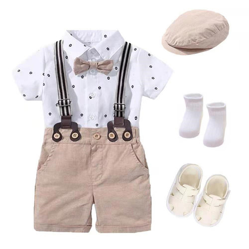 baby boy suspender set