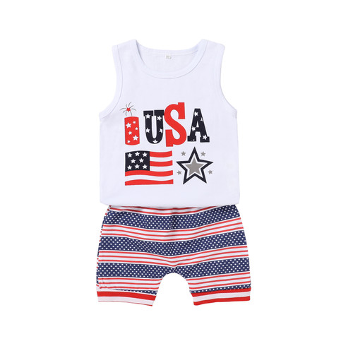 baby boy usa patriotic outfit