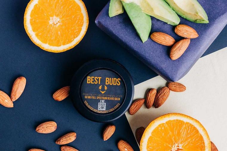 Best Buds Premium Hemp 50 MG Full Spectrum Beard Balm