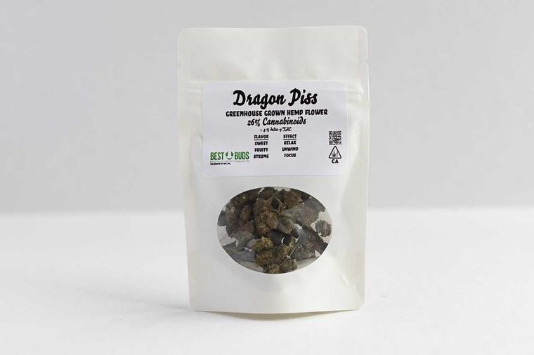 Best Buds Premium Hemp Dragon Piss - Sativa Greenhouse Hemp Flower 26percent Cannabinoids