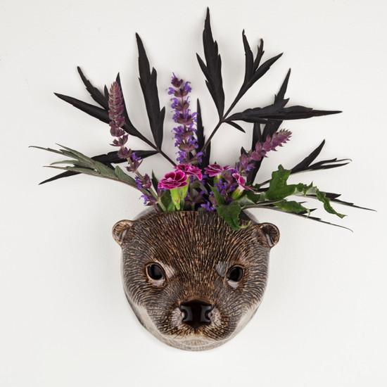 Otter Wall Vase small