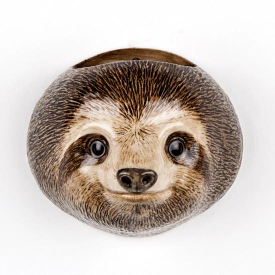 Sloth Wall Vase small