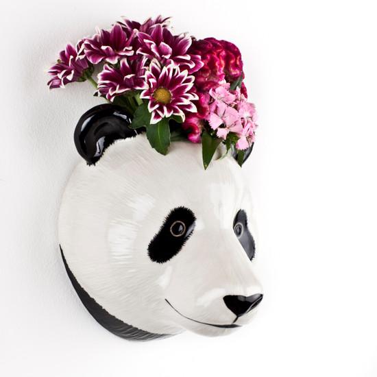 Panda Wall Vase large