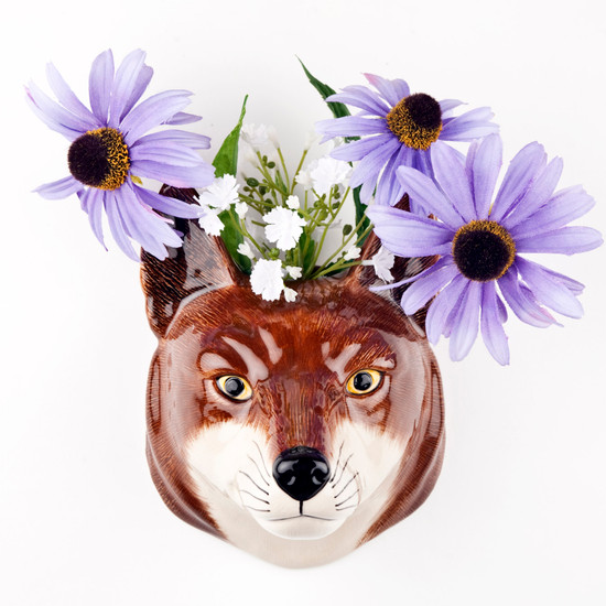 Fox Wall Vase large