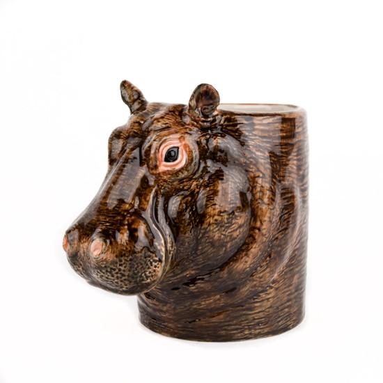 Hippo Pencil Pot