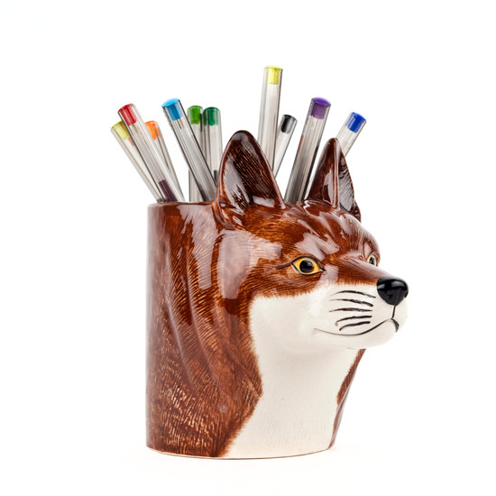 Fox Pencil Pot