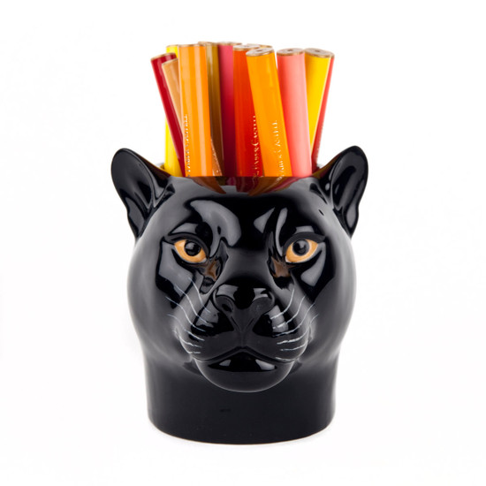 Panther Pencil Pot
