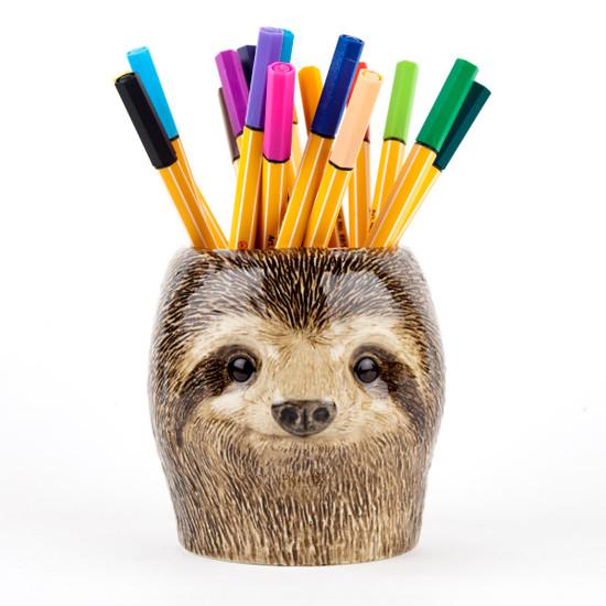 Sloth Pen Pot
