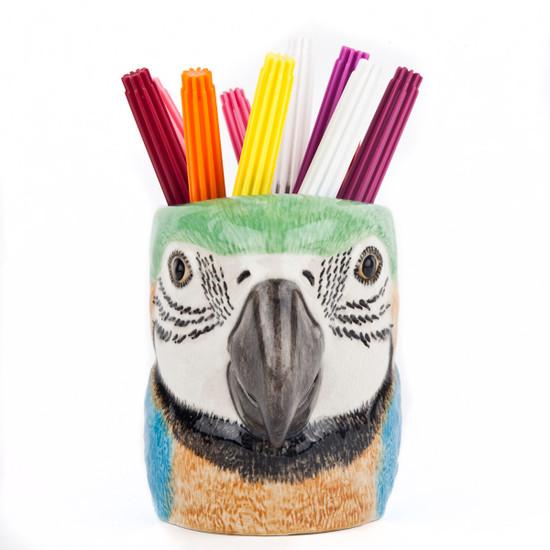 Macaw Pen Pot