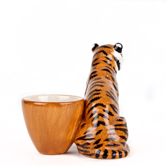 Tiger with Egg Cup