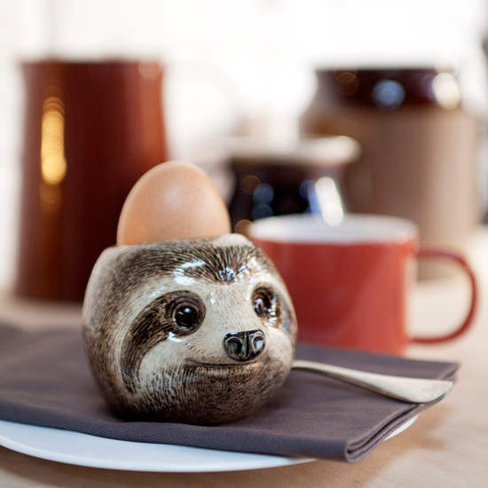 Sloth face egg cup