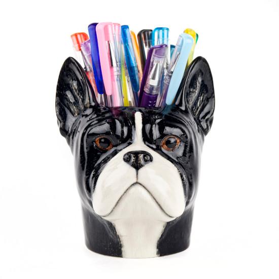 French Bulldog Pen Pot
