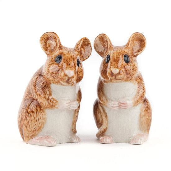 Wood Mouse Salt and Pepper