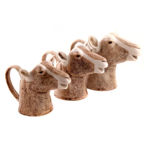 British Toggenburg Goat Jug Small