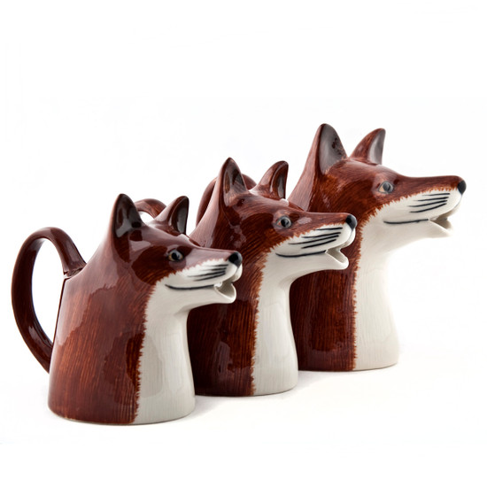 Fox Jugs Small, Medium, and Large