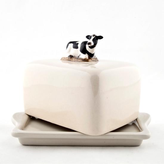 Friesian Cow Butter Dish