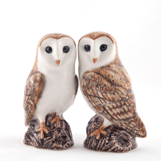 Barn Owl Salt and Pepper