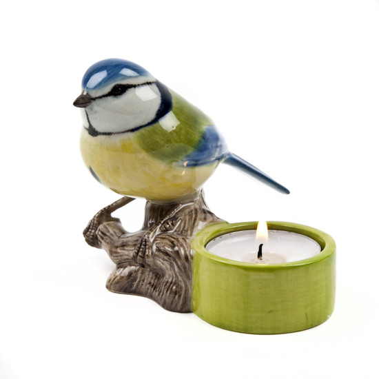 Blue Tit Tea Light Holder