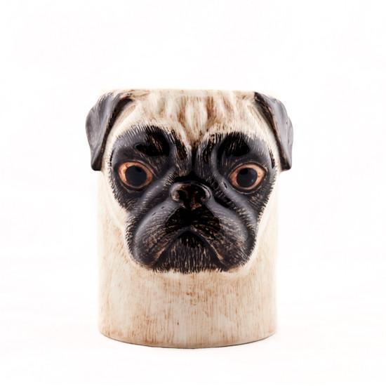 Pug Pen Pot Fawn