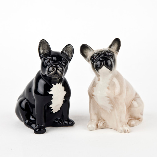French Bulldog Salt and Pepper fawn/black