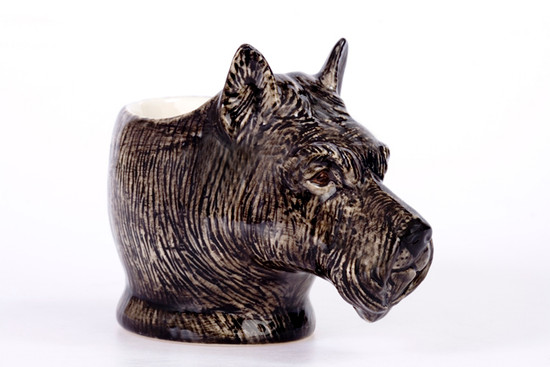 Scottie Face Egg Cup