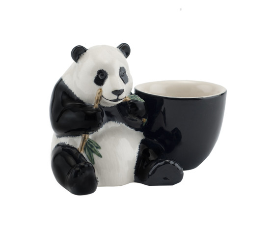 Panda with Egg Cup
