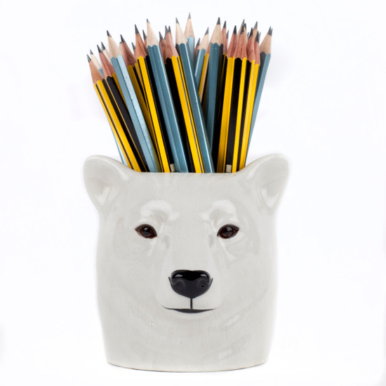 Polar Bear Pencil Pot