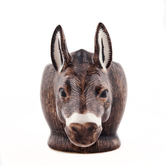 Donkey Face Egg Cup Brown