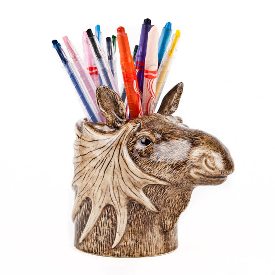 Moose Pencil Pot