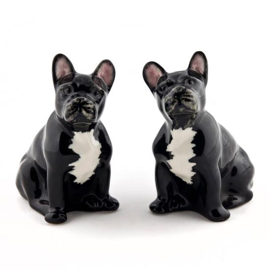 French Bulldog Figures black/white (2)