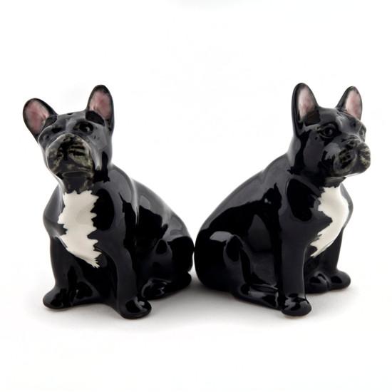 French Bulldog Salt and Pepper Black/White