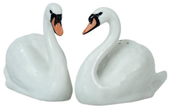 Swan Salt and Pepper
