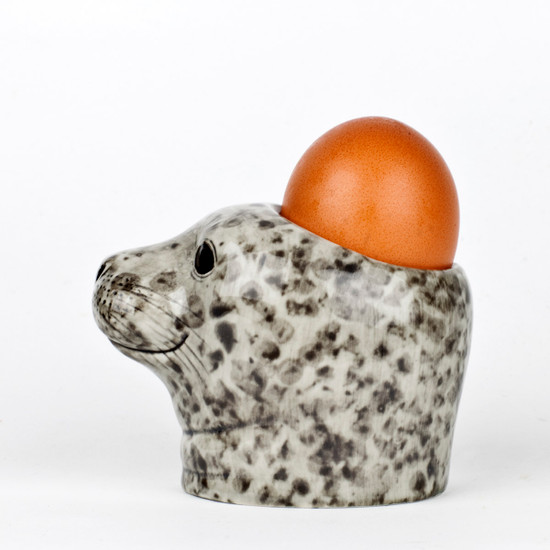Harbour Seal Face Egg Cup